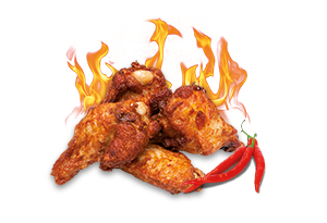 Alette di pollo hot (5pz)
