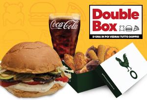 Menù Veggie Burger x2