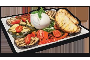 Piatto verdure grill